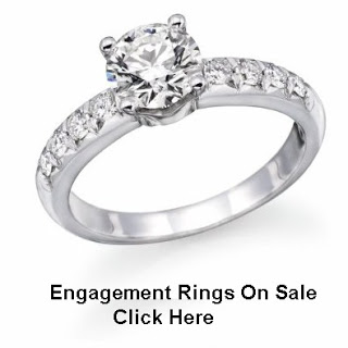 1 Carat Three Stone Diamond Engagement Ring in 14K White Gold