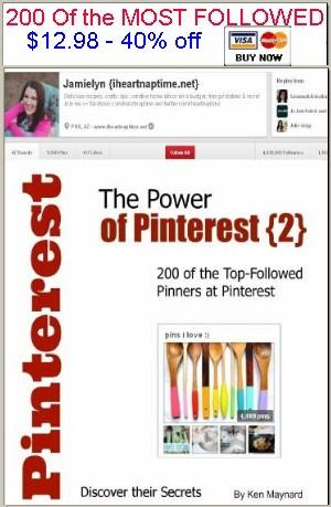 sidebar power of pinterest