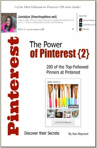 sidebar power of pinterest