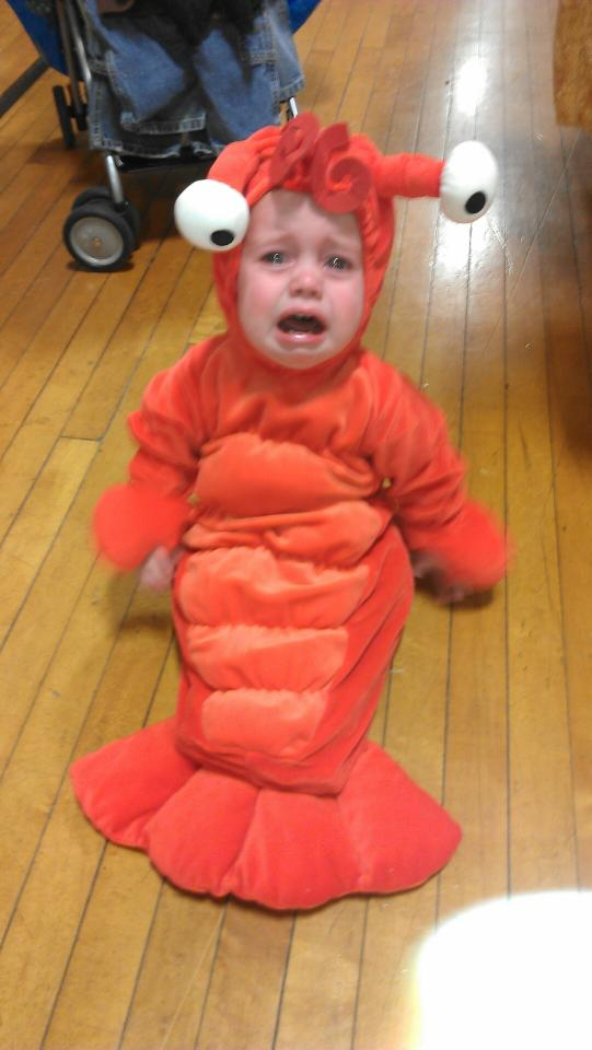 Mom, I don't wanna go as a Lobster! - DIY Party Costume