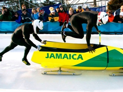 Jamaica Bobsled Team Meets Sochi Olympics