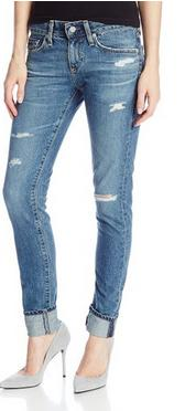 AG Adriano Goldschmied Women's Nikki Relaxed Skinny Jean In 13 Years Wildwood - Indigo-tone jean in relaxed-skinny silhouette featuring abrasions and whiskering - See more at: http://www.pamperedhostess.com/fashion-style-more/#sthash.F6ryCpGa.dpuf