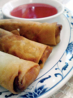 20 Best Retro Appetizers - - - - - # 5. Chinese Eggrolls with Dipping Sauce