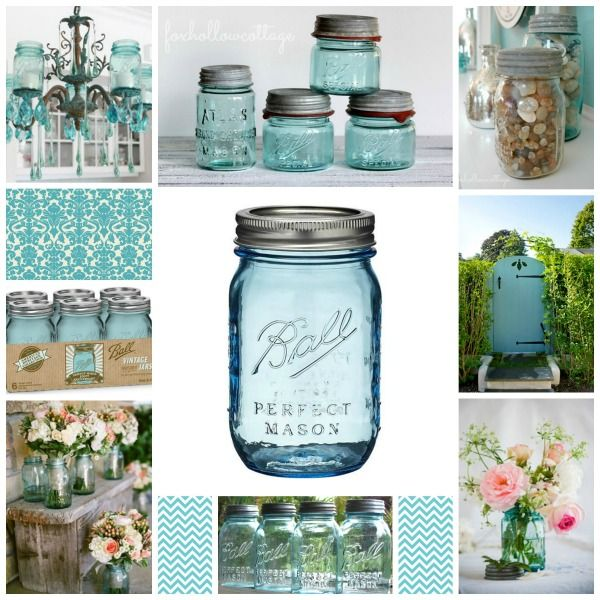 Use Ball Mason Jars - for  Creative DIY.