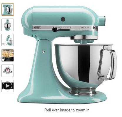 KitchenAid KSM150PSAQ 5-Qt. Artisan Series