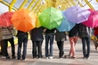 colorful umbrellas #19282240